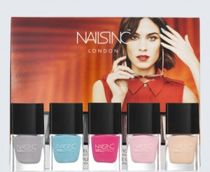 Nails Inc. Coconut Brights Gel Effect Nail Varnish