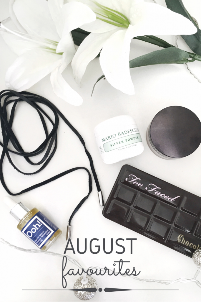 August Favourites 2016