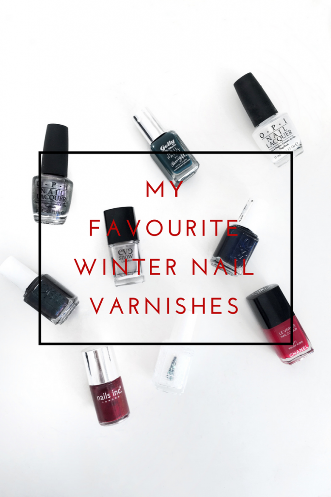 My Favourite Winter Nail Varnishes
