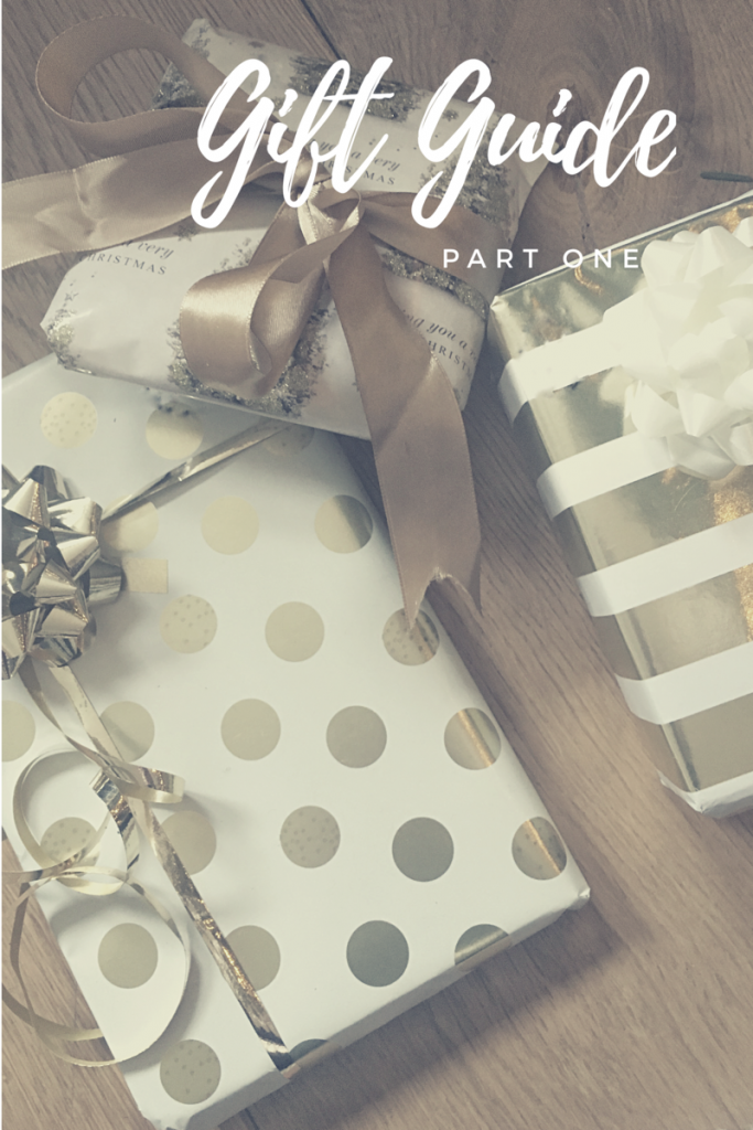 Blogmas Day 4: Gift Guide Part 1