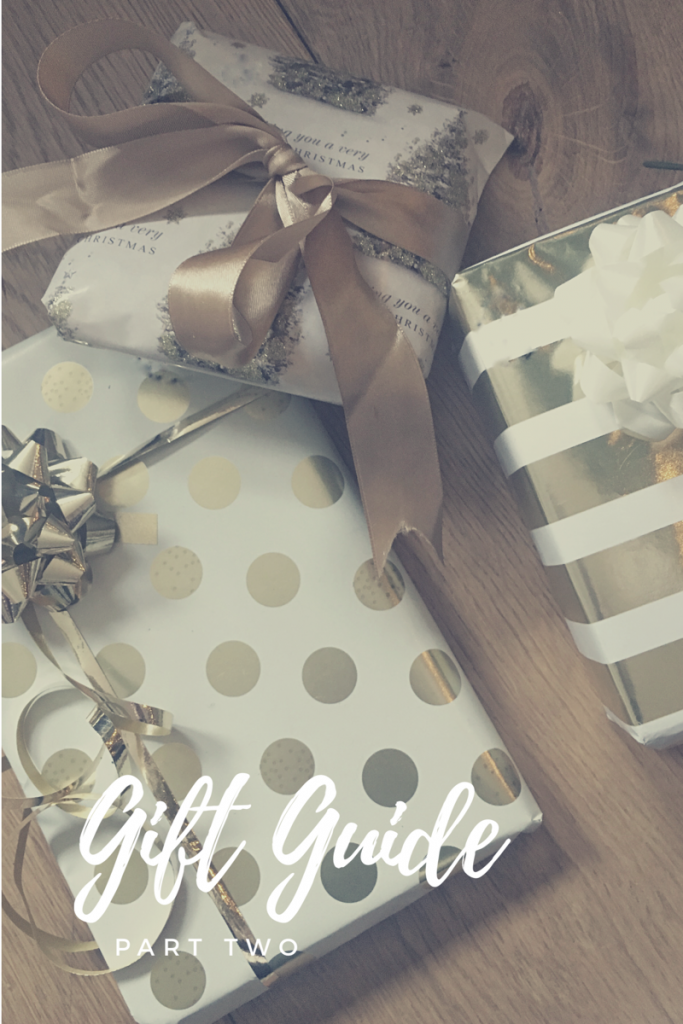 Blogmas Day 5: Gift Guide Part 2
