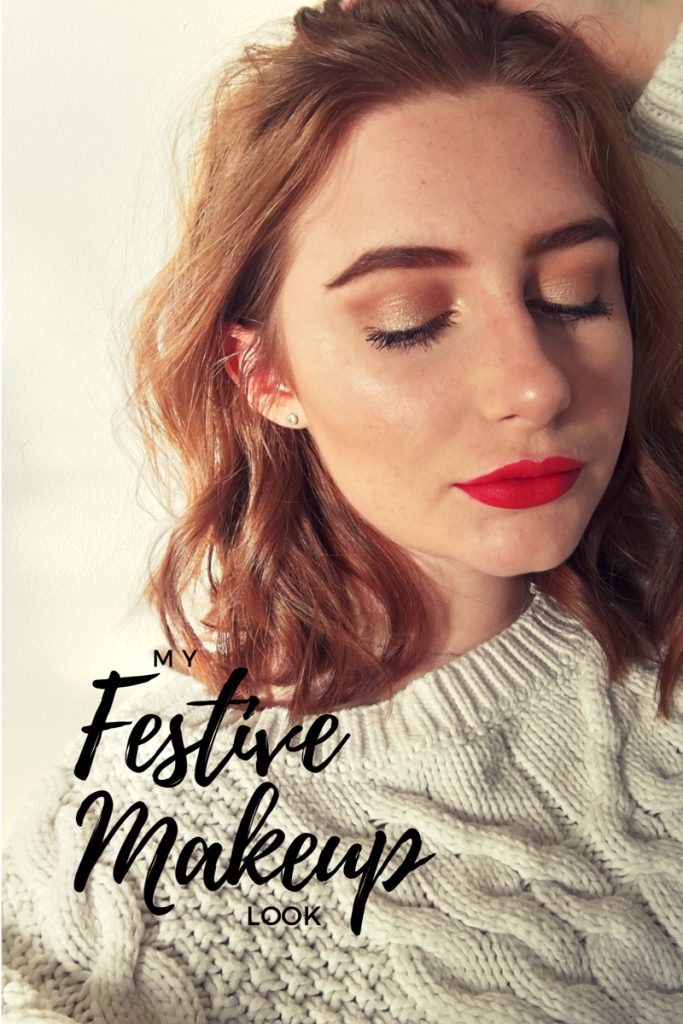 Blogmas Day 10: Festive Makeup Look