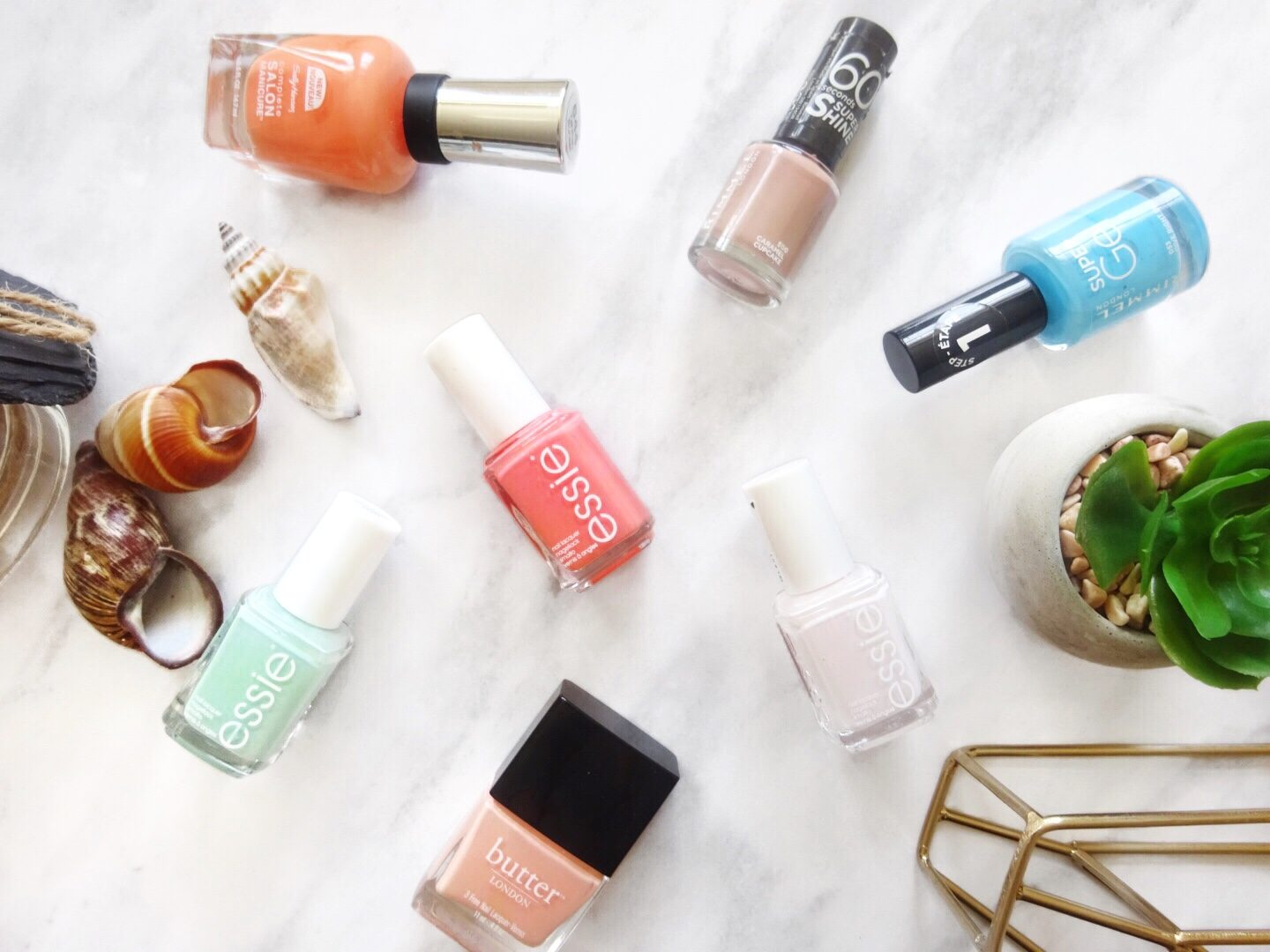 My Favourite Summer Nail Varnishes