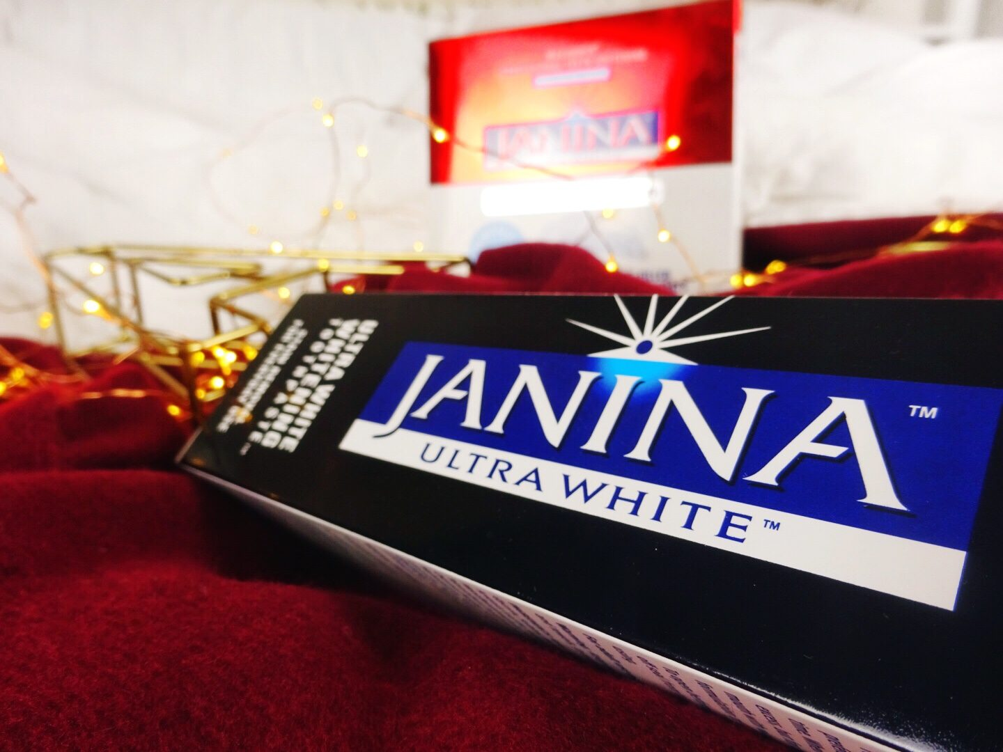 Getting a Whiter Smile for Christmas w/ Janina Ultra White