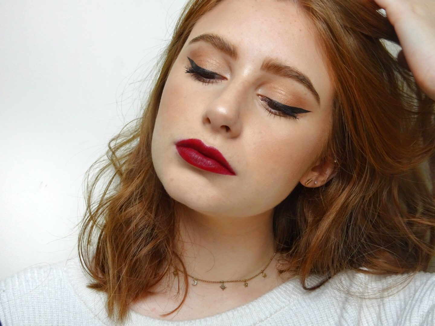 Blogmas 2017 Day 24 Christmas Day Makeup Look The