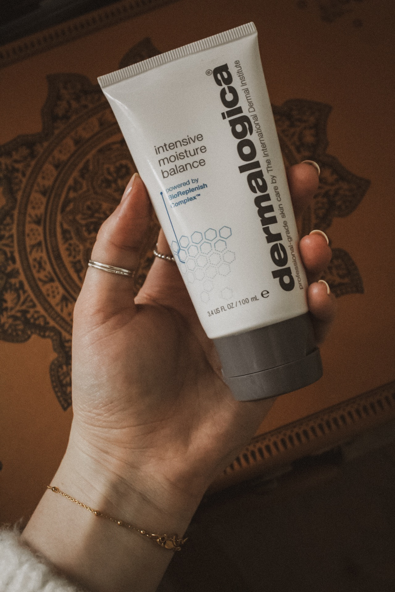 My current favourite moisturiser for super dry skin