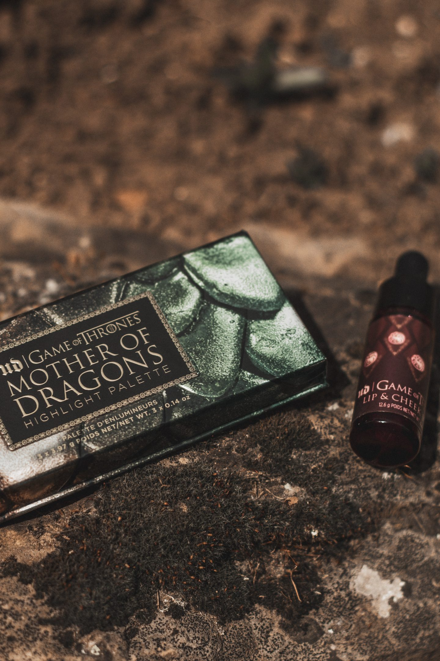 Urban Decay x Game of Thrones REVIEW