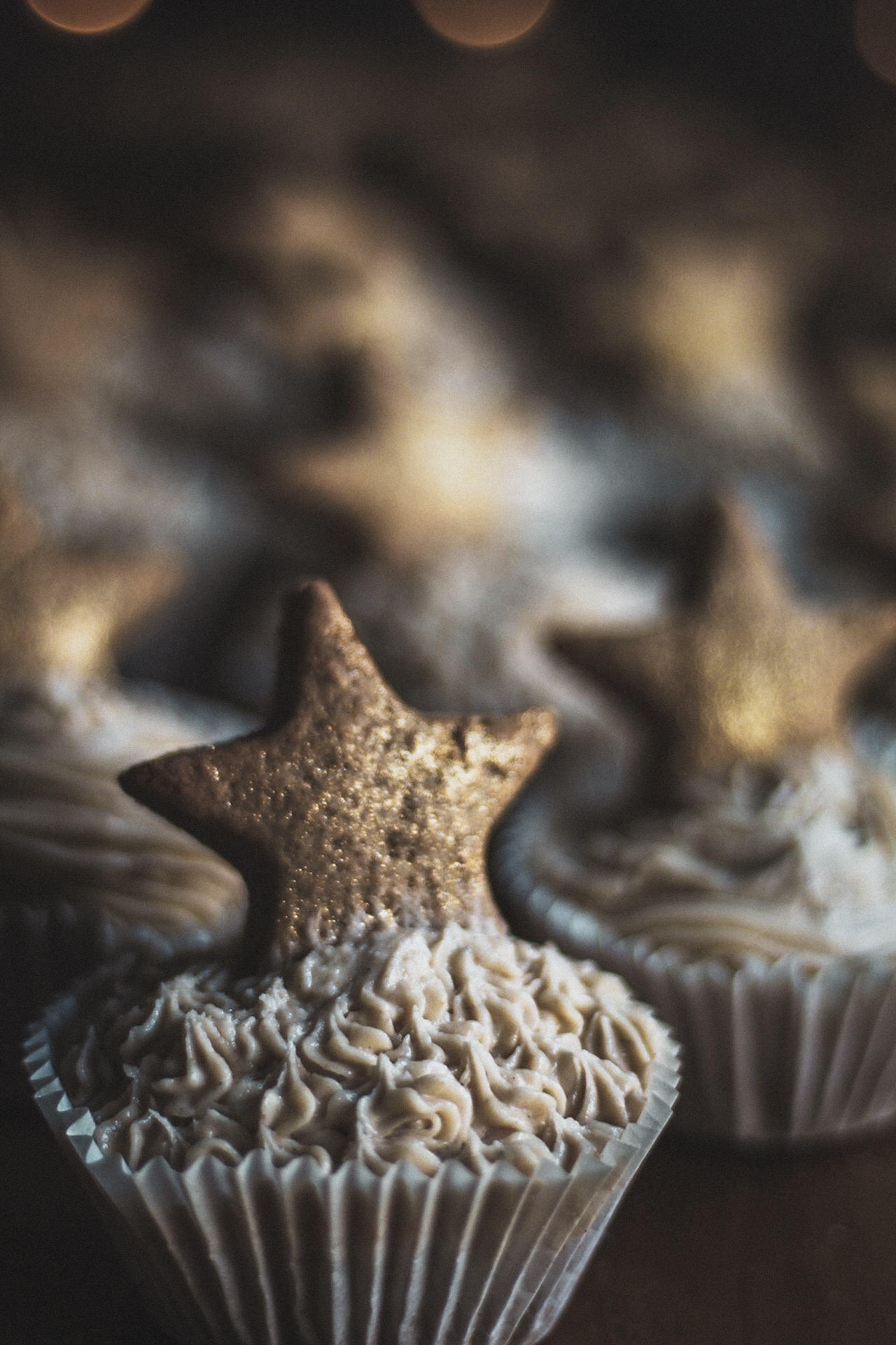 Spiced Pumpkin Cupcakes with Chai Buttercream