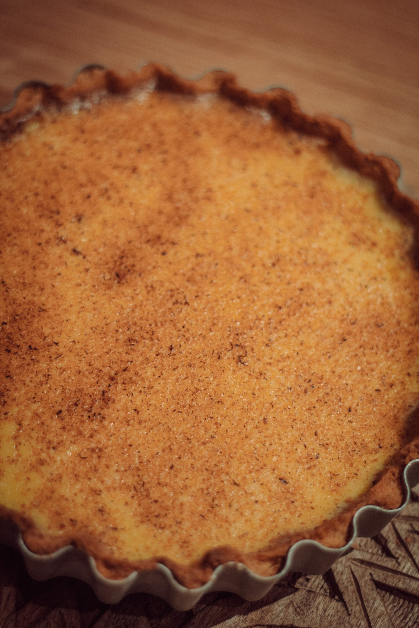 Egg Custard Tart Recipe